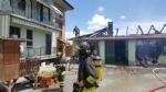 BEINASCO - Incendio nel deposito di unimpresa di costruzioni a Borgaretto: tanta paura, ma nessun ferito - immagine 10