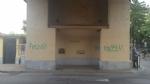 NICHELINO - Vandalizzato larco di via Stupinigi, restaurato dai volontari - immagine 1