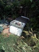 MONCALIERI - Maxi abbandono di rifiuti in strada Mongina. Ennesimo caso - immagine 1