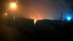 MONCALIERI - Incendio distrugge otto camion in un deposito di strada Mongina - LE FOTO - - immagine 1