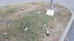 MONCALIERI - Troppi rifiuti in corso Trieste e spunta un cartello: «Sporcate per sentirvi a casa» - immagine 1