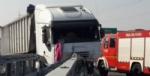 CANDIOLO - Grave incidente sullautostrada Torino-Pinerolo, camionista in condizioni critiche - LE FOTO - - immagine 1