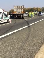 CANDIOLO - Grave incidente sullautostrada Torino-Pinerolo, camionista in condizioni critiche - LE FOTO - - immagine 8