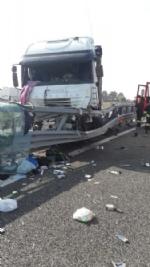 CANDIOLO - Grave incidente sullautostrada Torino-Pinerolo, camionista in condizioni critiche - LE FOTO - - immagine 6