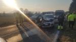 RIVALTA - Maxi tamponamento in strada San Luigi: sei mezzi coinvolti, due feriti - FOTO - immagine 1
