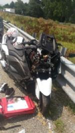 ORBASSANO - Incidente in tangenziale: due motociclisti ricoverati in condizioni serie al San Luigi - immagine 1