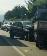 ORBASSANO - Ancora un brutto incidente sulla Orbassano-Stupinigi: due feriti in ospedale - immagine 1
