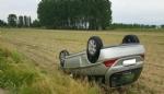CARIGNANO - Due spettacolari incidenti provocano code sulle strade della provincia - immagine 1