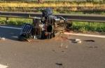 RIVALTA - Tragedia in zona Interporto Sito, muore un motociclista in un incidente - immagine 1