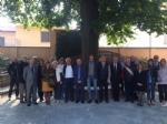 CARMAGNOLA - Il giardino riabilitativo del San Lorenzo premiato dallOrdine degli architetti - immagine 1