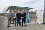 """NICHELINO - Inaugurato al Carrefour """"Mister pack"""" il nuovo punto per buttare la plastica, guadagnando. - immagine 1"""