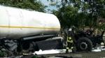 NICHELINO - Maxi incidente In tangenziale sud, coinvolti mezzi pesanti e auto - LE FOTO - - immagine 3