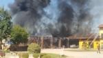 ORBASSANO - Brucia il fienile di cascina Gorgia - FOTO E VIDEO - immagine 1