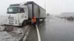 LA LOGGIA - Incidente causa neve, camion finisce fuori strada: traffico in tilt - FOTO - immagine 1