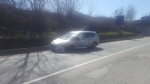LA LOGGIA - Gasolio sullasfalto: circonvallazione bloccata - immagine 1