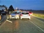 CARIGNANO - Incidente sulla provinciale per Saluzzo, quattro auto coinvolte - immagine 1