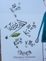 MONCALIERI - Vandali scarabocchiano il parco riqualificato dal papà-parrucchiere - immagine 1