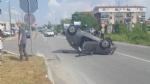 RIVALTA - Auto ribaltata in via Giaveno: traffico in tilt a Gerbole - immagine 4