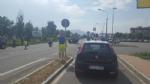RIVALTA - Auto ribaltata in via Giaveno: traffico in tilt a Gerbole - immagine 1