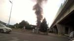 NICHELINO - Paura in viale Matteotti per un furgone andato a fuoco - immagine 1