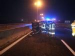 MONCALIERI - Grave incidente stradale in tangenziale: ferita una guardia giurata - FOTO - immagine 3