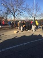 MONCALIERI - Protesta dei profughi: «Siamo senza documenti». Occupata via Postiglione - FOTO - immagine 6