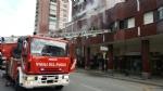 MONCALIERI - Incendio a borgo San Pietro: distrutto un appartamento in corso Roma. Un secondo alloggio danneggiato dal fumo - immagine 1