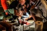 Paura in Piazza San Carlo durante la partita: cede una ringhiera, diversi i feriti. - immagine 1