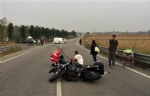 CARMAGNOLA - Ennesimo schianto in via Poirino: motociclista in elisoccorso al Cto - immagine 1