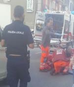 NICHELINO - Grave incidente in via Torino, anziano ciclista investito da un furgoncino - immagine 1