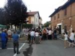 LOMBRIASCO - Il paese scende in strada per la messa della benedizione della Madonna - immagine 1