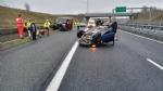 ORBASSANO - Incidente stradale sul raccordo: due feriti - FOTO - immagine 4