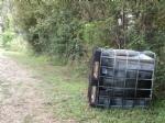 VINOVO - Abbandonano rifiuti in riva al Chisola, ma vengono incastrati dalle telecamere nascoste - immagine 2
