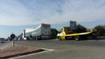 NICHELINO - Camion rischia di perdere il carico in via XXV Aprile. Disagi in zona Debouchè - immagine 1