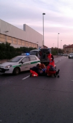 BEINASCO - Gravi incidenti a Borgaretto e borgo Melano: due motociclisti feriti - immagine 2