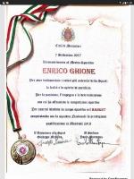 MONCALIERI - Enrico Ghione, nazionale di pallacanestro in carrozzina, premiato dal Comune - immagine 2