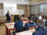 ORBASSANO - Limprenditore Fischetto torna tra i banchi di scuola - immagine 2