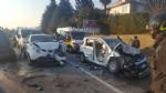RIVALTA - Maxi tamponamento in strada San Luigi: sei mezzi coinvolti, due feriti - FOTO - immagine 2