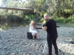 NICHELINO - Il torrente Sangone teatro per un videoclip - immagine 2