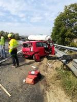 NICHELINO - Maxi incidente In tangenziale sud, coinvolti mezzi pesanti e auto - LE FOTO - - immagine 1