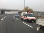 BEINASCO - Paura per un incidente in tangenziale alluscita del Drosso, quattro veicoli coinvolti - LE FOTO - - immagine 2