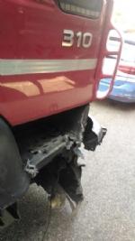 NICHELINO - Camion investe auto ferma in sosta in tangenziale: quattro feriti - immagine 2
