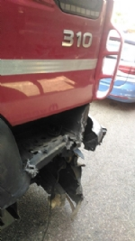 NICHELINO - Camion investe auto ferma in sosta in tangenziale: quattro feriti - immagine 4