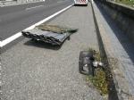 CANDIOLO - Perde un carico di lamiere in autostrada e colpisce lauto dietro: ricoverato per lo spavento - immagine 2
