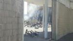 NICHELINO - Viberti ancora in fiamme: bruciano masserizie e rifiuti abbandonati  - FOTO - immagine 2