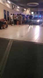 Paura in Piazza San Carlo durante la partita: cede una ringhiera, diversi i feriti. - immagine 3