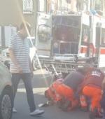 NICHELINO - Grave incidente in via Torino, anziano ciclista investito da un furgoncino - immagine 2