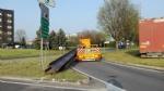 ORBASSANO - Grave incidente allinterporto: ambulanza contro un tir - immagine 2