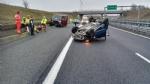 ORBASSANO - Incidente stradale sul raccordo: due feriti - FOTO - immagine 2