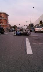 BEINASCO - Gravi incidenti a Borgaretto e borgo Melano: due motociclisti feriti - immagine 3